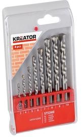 Kreator Stone Drill Set 3-10mm 8PCS