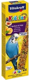 Vitakraft Kracker Apricot & Fig For Parakeets 2pcs