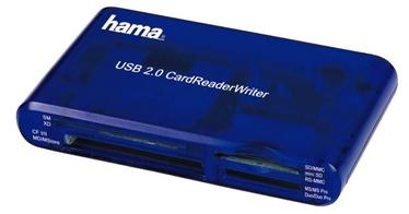 Hama USB 2.0 Multi Card Reader Blue