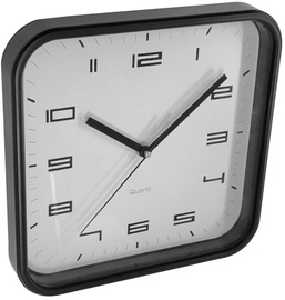 Asi Collection Wall Clock 25x25cm Black