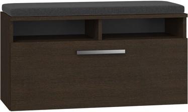 Kingariiul Top E Shop Riva Wenge, pruun, 850x350x460 mm