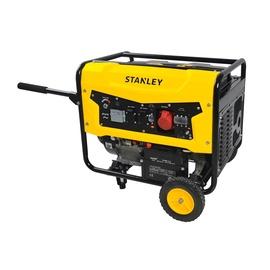Benzininis vienafazis - trifazis generatorius Stanley SG 5600, 5600W