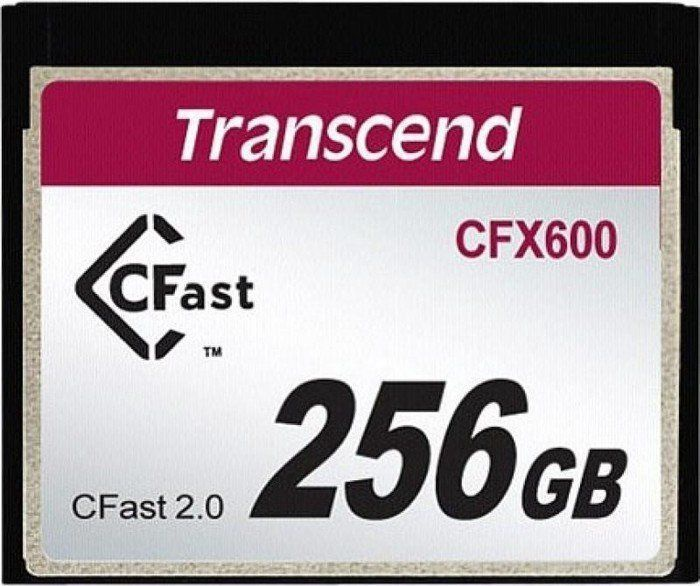Transcend CompactFlash CFX600 256GB