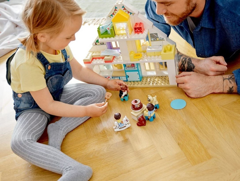 Конструктор LEGO Duplo Modular Playhouse 10929 10929, 129 шт.
