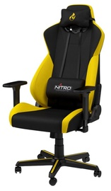 Žaidimų kėdė Nitro Concepts Gaming Chair S300 Yellow/Black