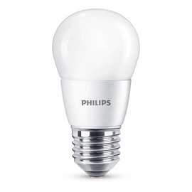 Led lamp Philips P48, 7W, E27, 4000K, 830lm