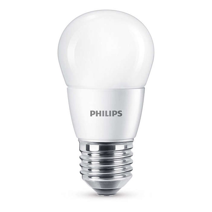 Spuldze led Philips P48, 7W, E27, 4000K, 830lm