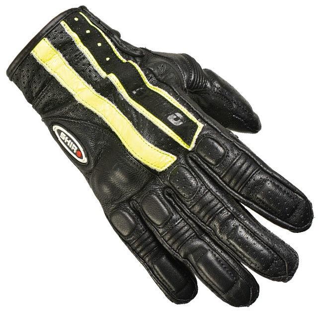 Shiro Pista Gloves SH-06 Black Yellow XL
