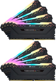 Corsair Vengeance RGB PRO Black 128GB 3600MHz CL18 DDR4 KIT OF 8 CMW128GX4M8X3600C18