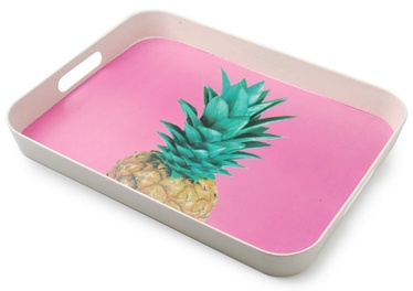 Mondex Pineapple Bamboo Decorative Tray
