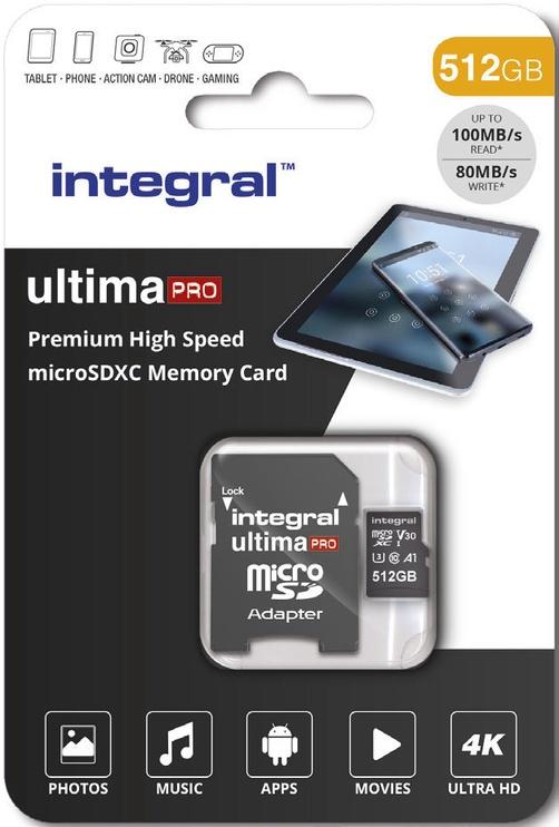 Карта памяти Integral Ultima Pro Premium microSDXC V30 UHS-I U3 64GB