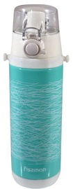 Fissman Travel Mug With Handle 450ml Turquoise 9727