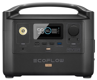 Зарядное устройство - аккумулятор EcoFlow RIVER Pro, 25000 мАч, черный
