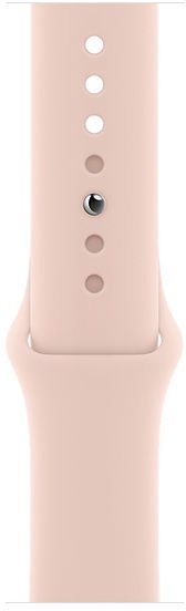 Apple Watch Series 6 GPS 44mm Gold Aluminum Pink Sand Sport Band