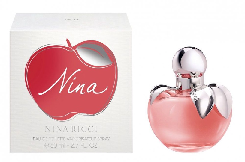 Tualettvesi Nina Ricci Nina 80ml EDT