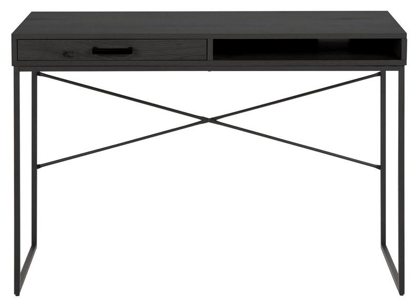 Home4you Seaford Writing Desk 110x45xH75cm Black
