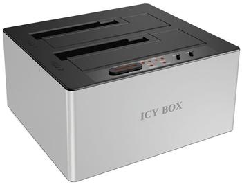 RaidSonic Docking Station For 2x 2.5''/3.5'' HDD Case USB 3.0 White