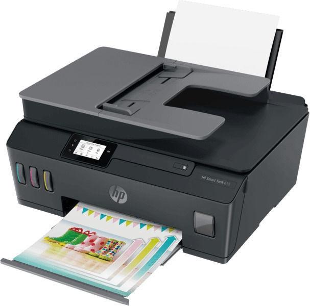 Daugiafunkcis spausdintuvas HP Smart Tank 615, rašalinis, spalvotas