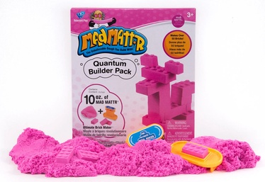 Kinetinis smėlis Relevant Play Mad Mattr Quantum Builders Pack Pink, 283 g
