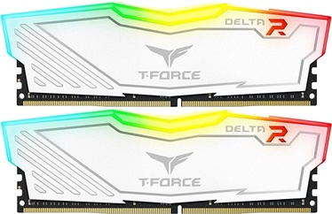 Team Group Delta RGB White 8GB 2400MHz CL15 DDR4 KIT OF 2 TF4D48G2400HC15BDC01