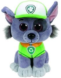 Pliušinis žaislas TY Beanie Boos Paw Patrol Rocky, 15 cm
