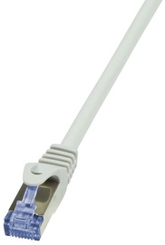LogiLink CAT 6a S/FTP Cable Grey 3m