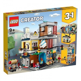 Конструктор LEGO Creator Townhouse Pet Shop & Cafe 31097