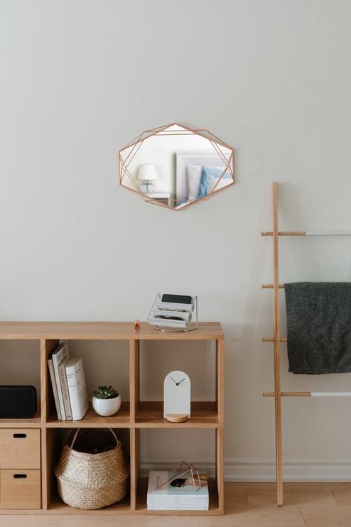 Peegel Umbra Prisma Copper, riputatav, 57x43 cm