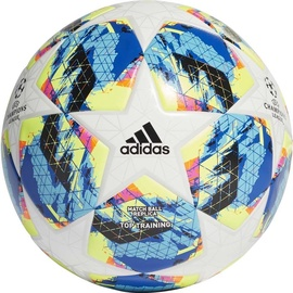 Adidas Finale Top Training Ball White/Blue/Yellow Size 5