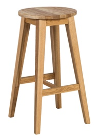 Home4you Mondeo Bar Stool Oak