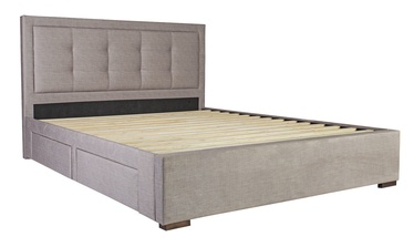 Home4you Duke Bed 160x200cm Beige