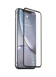 Защитное стекло Devia Real Series 3D Curved Full Screen Tempered Glass for iPhone SE2, 9h