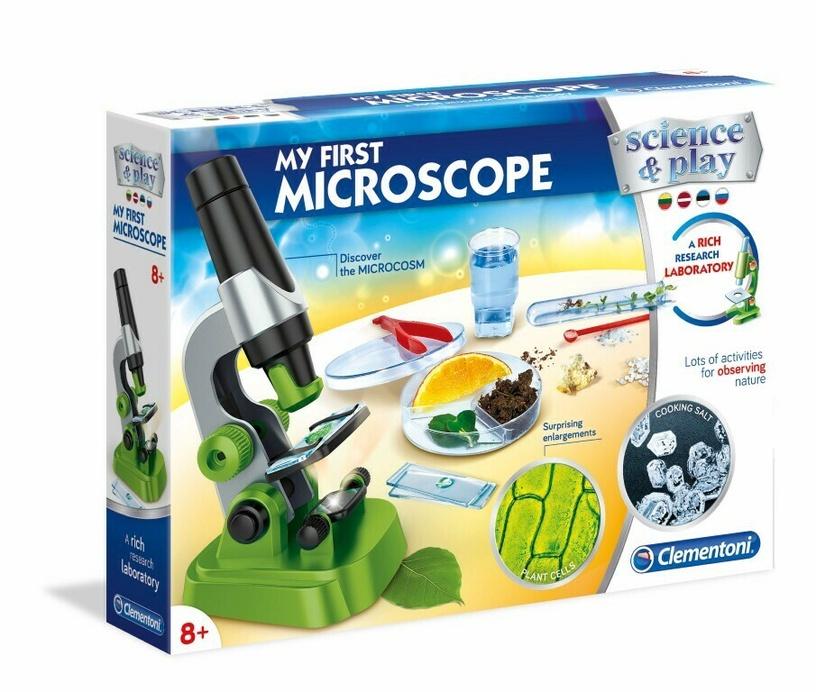 Žaidimas rinkinys mano pirmasis mikroskopas 50583