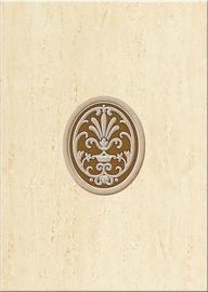 Keraminės dekoratyvinės sienų plytelės Desa Cream, 35 x 25 cm