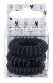 2K Hair Tie 3pcs Black