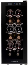 Vyno šaldytuvas Dunavox DAT12.33C Black