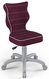 Детский стул Entelo Petit Size 3 VS07, серый/фиолетовый, 300 мм x 775 мм