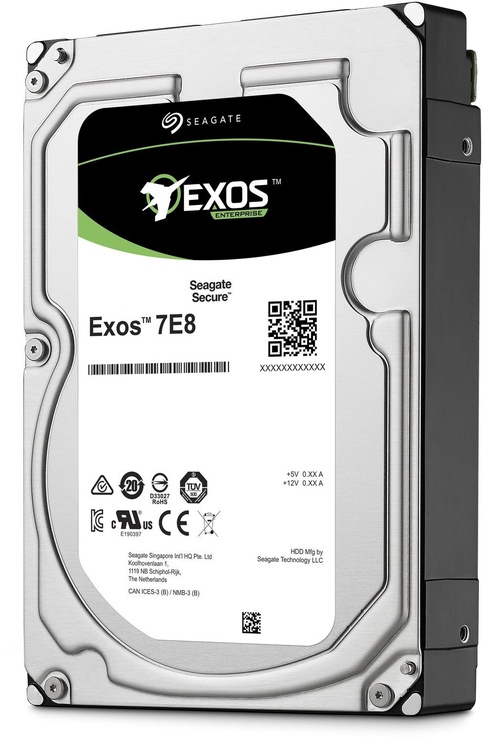Жесткий диск сервера (HDD) Seagate Exos 7E8 2TB 7200RPM 256MB SAS ST2000NM004A