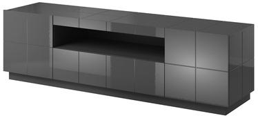 ТВ стол Cama Meble Reja, серый, 1840x450x575 мм