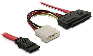 Delock Cable SAS SFF-8482 + Power / 1 x SATA 7pin 0.5m
