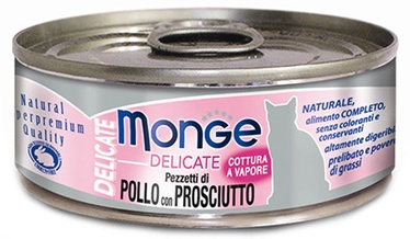 Monge Delicate Chicken With Ham 80g
