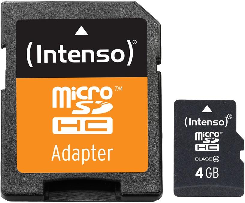 Intenso 4GB microSD Class 4 3403450