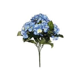 Dirbtinių hortenzijų puokštė, 43 cm