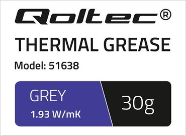 Qoltec Thermal Grease 1.93 W/m-K 30g