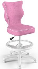 Entelo Petit Black HC+F Size 3 Children Chair VS08 White/Pink
