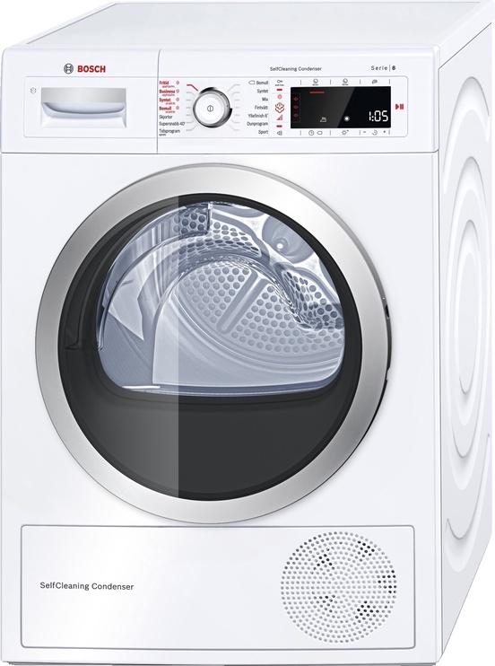 Džiovyklė Bosch WTW855R9SN