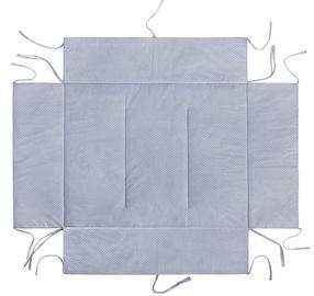 Lulando Playpen Mat For Children Grey With White Dots 75x100cm