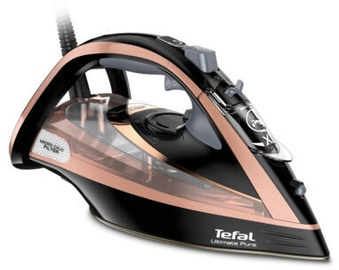 Tefal Ultimate Pure FV9845 Steam Iron Black/Pink