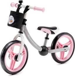 Vaikiškas dviratis Kinderkraft 2Way Pink