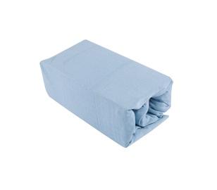 Palags Okko 125GSM Light Blue, 90x200 cm, ar gumiju